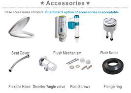Good Quality Bathroom Fittings Low Price Sanitary Ware Set China Good Quality Sanitary Ware
