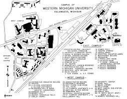 Michigan State University Map by Campus Maps Facilities Management Western Michigan University