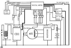 jt350db atv digital meter of motorcycle parts buy motorcycle