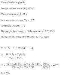 selina icse solutions for class 10 physics u2013 calorimetry