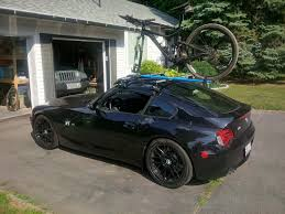 Porsche 911 Bike Rack - sports cars that you haul your bike to the trail head in page 12