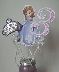 sofia the first centerpiece or cake topper princess sofia