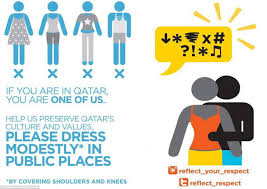 qatar reminds tourists of dress code ahead of u002722 world cup