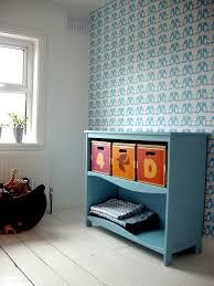 chambre tapisserie deco design interieur papier peint déco chambre enfant vintage oiseaux