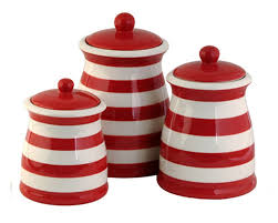 White Kitchen Canister 100 Red Kitchen Canister 100 Black Kitchen Canisters Black