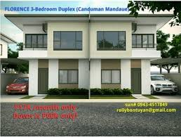 florence in canduman affordable duplex house p17k only cebu