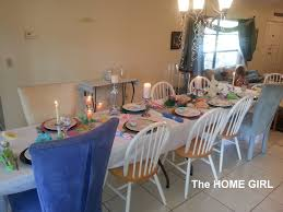 the home tablescapes