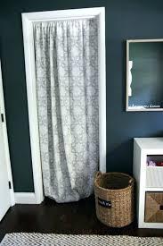Cloth Closet Doors Curtains For Closet Doors Closet Door Alternative Easy Drop Cloth