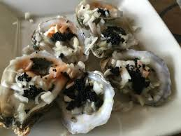 Coastal Kitchen And Bar - dirty raw oysters onions caviar tobasco yumm picture of