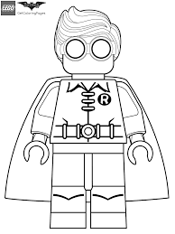 batman robin coloring pages coloring page