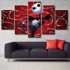 Jack Skellington Home Decor Online Get Cheap Nightmare Before Christmas Wall Art Aliexpress