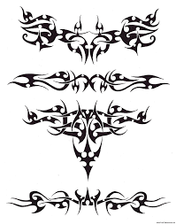 tribal wide armband tattoo design in 2017 real photo pictures