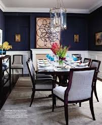 luxe dining room shining on design