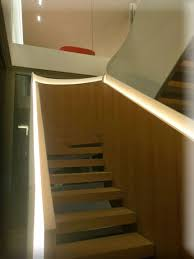 stair riser lights indoor recessed lighting ideas staircase led