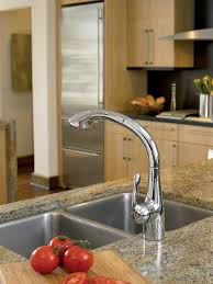 hansgrohe 06461000 chrome allegro e pull out kitchen faucet u2013 mega