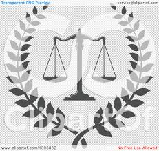 halloween wreath transparent background clipart of a laurel wreath with legal gray scales of justice