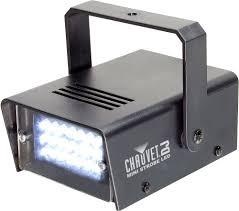 chauvet mini strobe led adjustable strobe light pssl