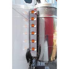 peterbilt air cleaner lights peterbilt 379 front air cleaner light bar with millennium m3 style