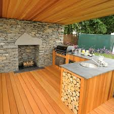 timber decking western red cedar silva timber