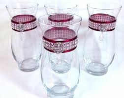 Crystal Vases For Centerpieces Rhinestone Vase Etsy