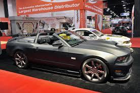 Mustang Matte Black 05 Saleen Matte Black S302 Speedster Mustangs Daily