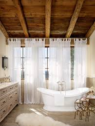 100 spanish bathroom design using small shape and wooden