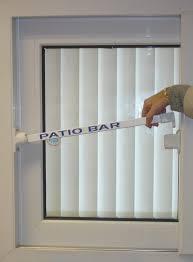 Secure Patio Door Patio Door Security Bar Lock Security Door Ideas