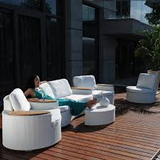 canapé de jardin design salon de jardin design pas cher mobilier de jardin soldes