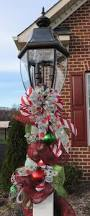 Outdoor Christmas Decorations Lamp Post by Xl Christmas Decoration For Lamp Posts Outdoor Light Fixtures