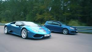 lamborghini huracan test dt test drive 700 hp vw golf r hgp vs lamborghini huracan