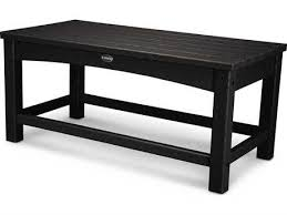 white rectangle coffee table outdoor coffee tables patioliving