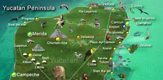map of mexico yucatan region where the expats live in mexico everything playa
