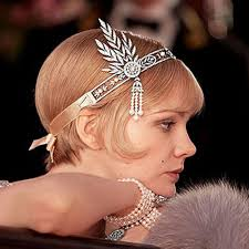 gatsby headband aliexpress buy women bridal great gatsby vintage style
