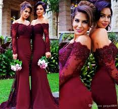 Wine Colored Bridesmaid Dresses 194 Best Bridesmaid Dresses Images On Pinterest Maid Of Honor