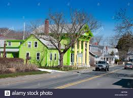old village galley green house in chatham cape cod stock photo