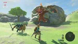 here u0027s more zelda breath of the wild gameplay than you can handle