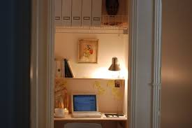 How To Turn Your Closet Into An Office - Closet home office design ideas