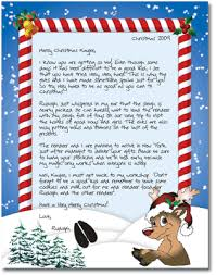 free letters from santa letter idea 2018