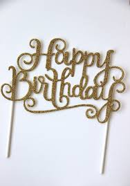 birthday cake topper happy birthday cake topper sprinkleanddash