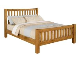 Oak Bed Frame Single Highlands Oak Bed Frame Next Day Delivery