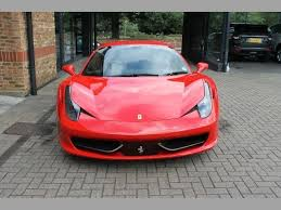 458 italia used for sale used 2011 458 italia dct spec for sale in bromley