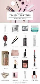 travel toiletries images Travel toiletries packing list the belle voyage jpg