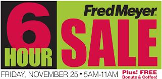 best black friday 2011 deals black friday 2011 fred meyer deals november 25 frugal living nw