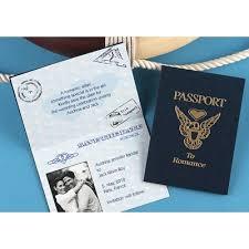 Save The Date Destination Wedding Passport Invitations For Destination Wedding Weddingbee