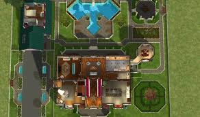 Mansion Floor Plans Sims 3 Mod The Sims Green Hills Mansion No Cc