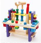 b034 ของเล่นไม้ ชุดเครื่องมือช่าง ฆ้อน ไขควง - ของเล่นเด็กราคาถูก ...