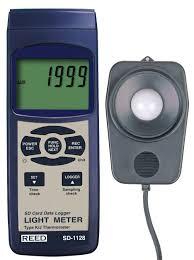 light intensity data logger amazon com reed instruments sd 1128 sd series light meter