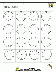 Spanish 1 Worksheets Math Time Worksheet Oclock Quarter And Half Past Telling The