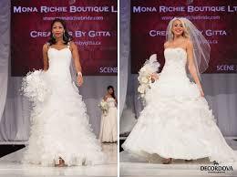 richie wedding dress canada s bridal show 2014 toronto by decordova