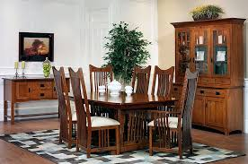 mission dining room table the amish home furniture gallery classic mission dining room furniture